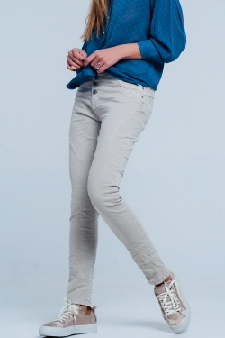 Original boyfriend jeans in beige