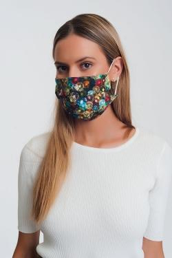 5 PACK flower print Mask