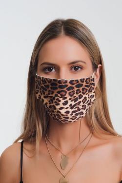5 PACK Leopard Print Mask